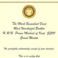 Charity Certificates